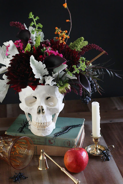 Halloween Decor Ideas, Hold The Orange /// By Faith Towers Provencher of Design Fixation