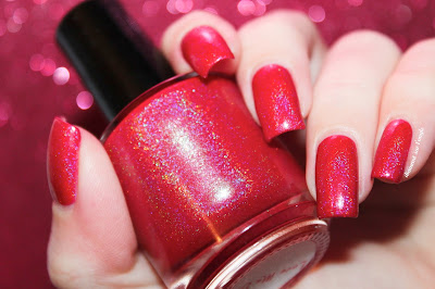 "Swatch of the nail polish ""Love Me Do"" from Eat Sleep Polish"
