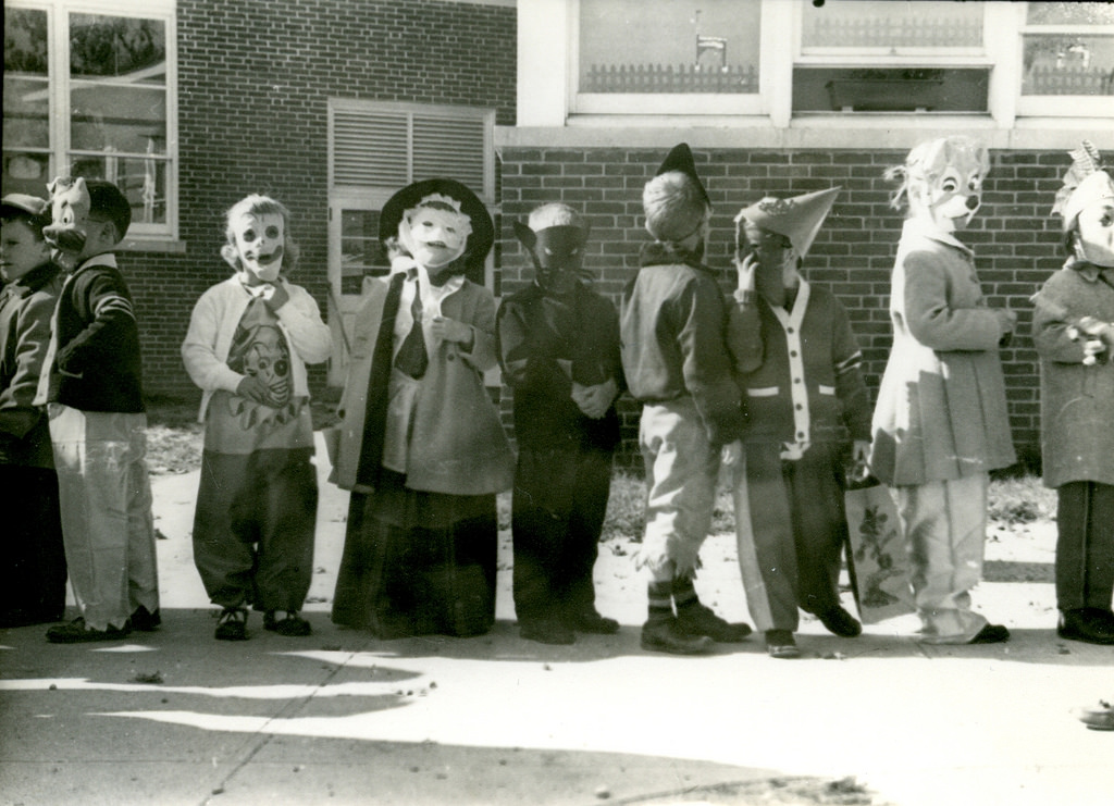 halloween costumes are typically on the spooky side but if youre looking for a real scare heres a collection of 13 vintage photos of halloween costumes