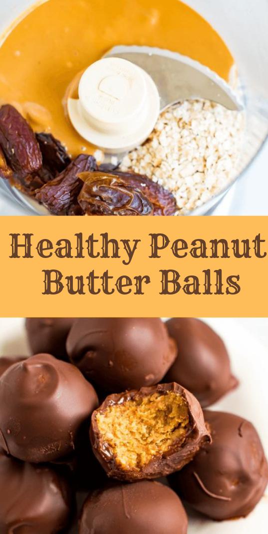 Healthy Peanut Butter Balls #peanut #cake
