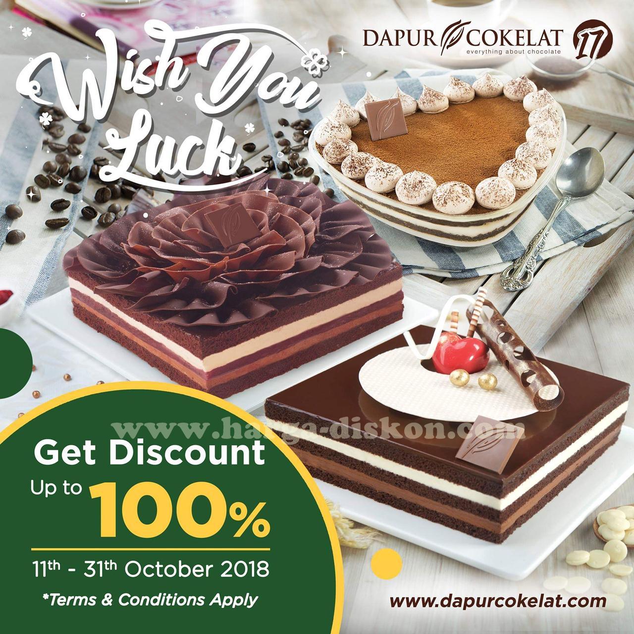Promo Dapur Cokelat Diskon Hingga 100 Periode 11 31 Oktober 2018