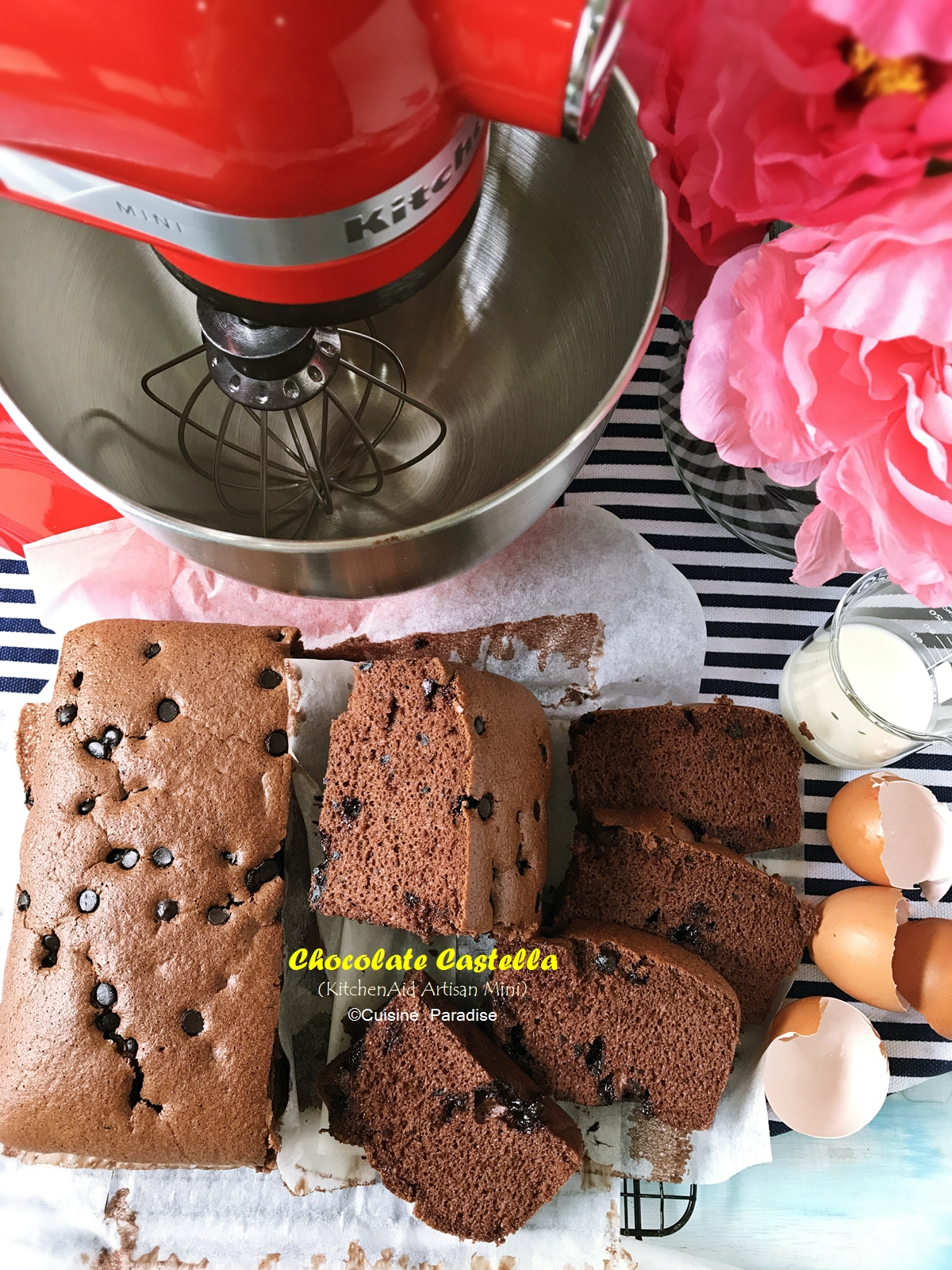 Cuisine paradise singapore food blog recipes reviews and travel recipes videos 3 assorted taiwan castella cake with kitchenaid artisan mini forumfinder Gallery