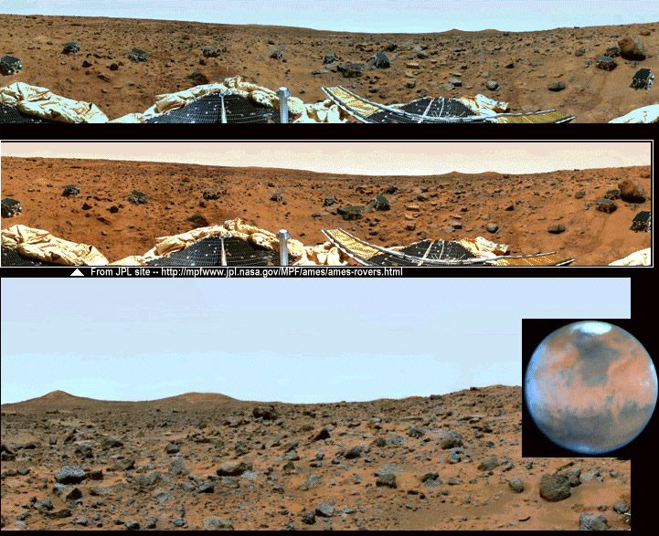 NASA Has Recognized That The Color Photos Of Martian Surface Are Largely An Artistic Vision And Not As Representative True Colors