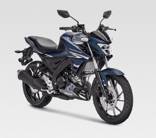 All New Yamaha Vixion R Matte Blue