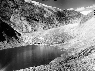 glaciar Nigards en 1959