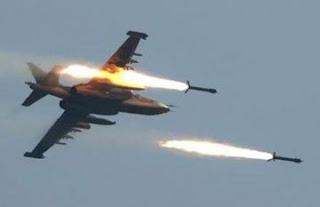 قتل عشرات الإرهابيين بتدمير معامل تفخيخ بضربة جوية في راوة وعانة غرب الانبار