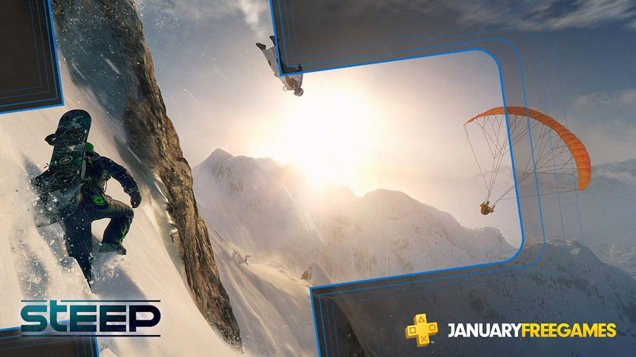 steep game ps4 plus