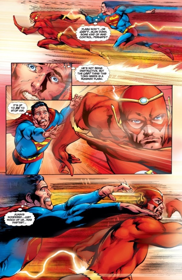 flash vs superman