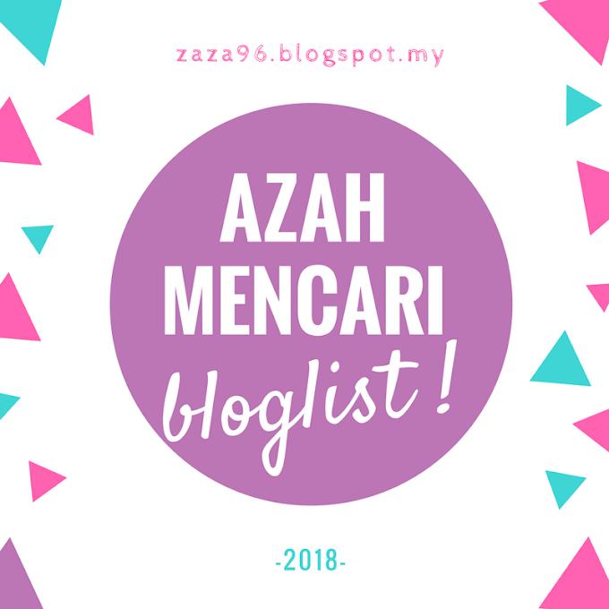 PENCARIAN BLOGLIST 2018