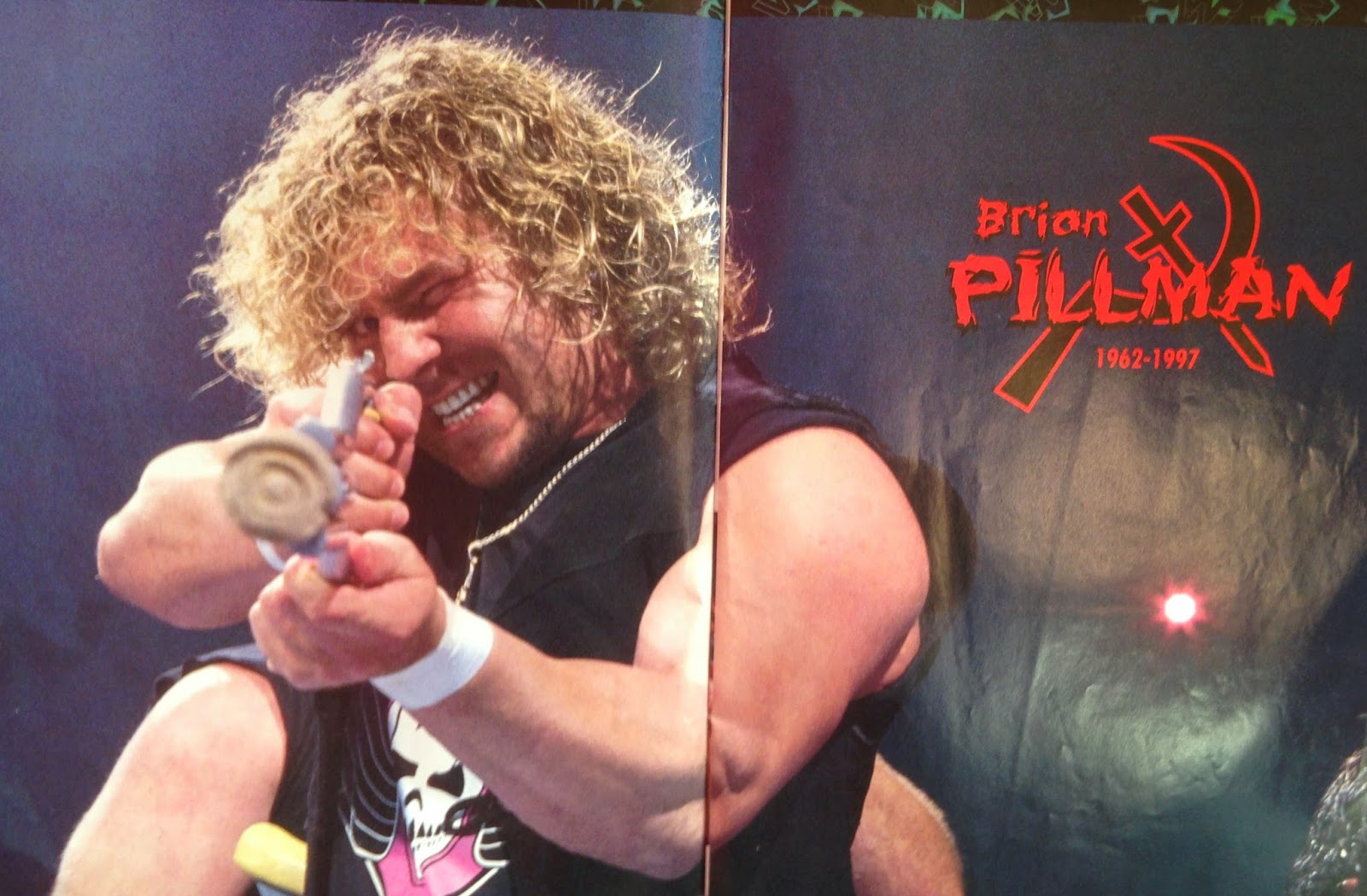 WWF MAGAZINE - JANUARY 1998 -  Brian Pillman 1962 - 1997