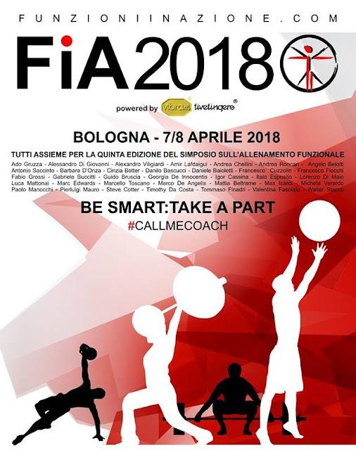 Funzioni in Azione 2018 - Simposio di Functional Training, 7-8 aprile a Bologna