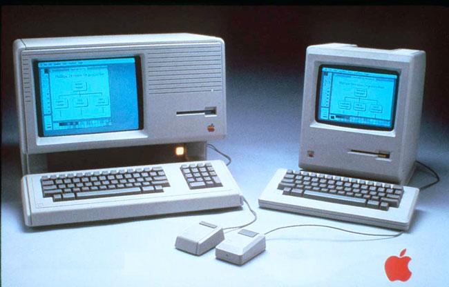 hayatta ilk defa Apple Macintosh