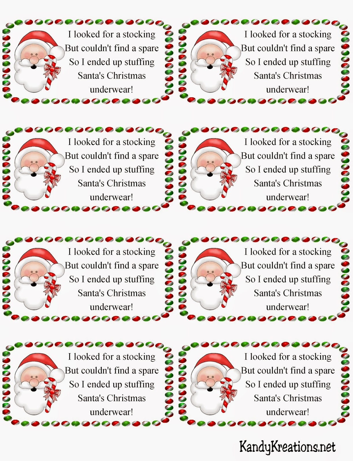 It is a graphic of Simplicity Secret Santa Tags Printable