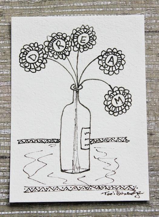 Message in A Bottle by Tori Beveridge