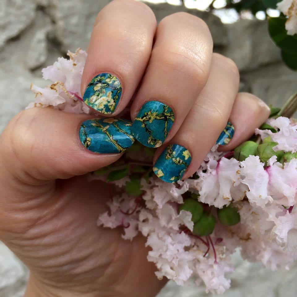 Creating kristina what is jamberry the vegan nail art revolution van gogh almond blossoms nail art studio nail wraps what is jamberry the prinsesfo Gallery
