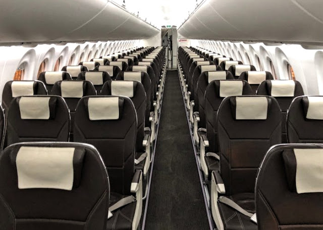 Airbus A220 Cabin Interior and Seating Layout