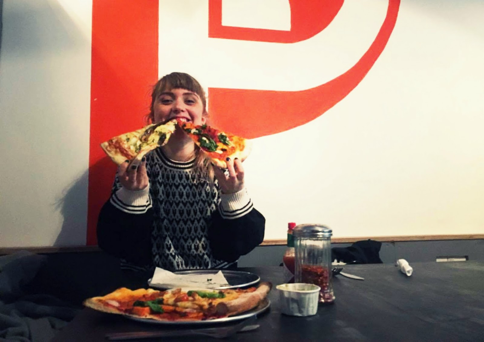 Eating out in Bristol, wriggle, pizza, proven