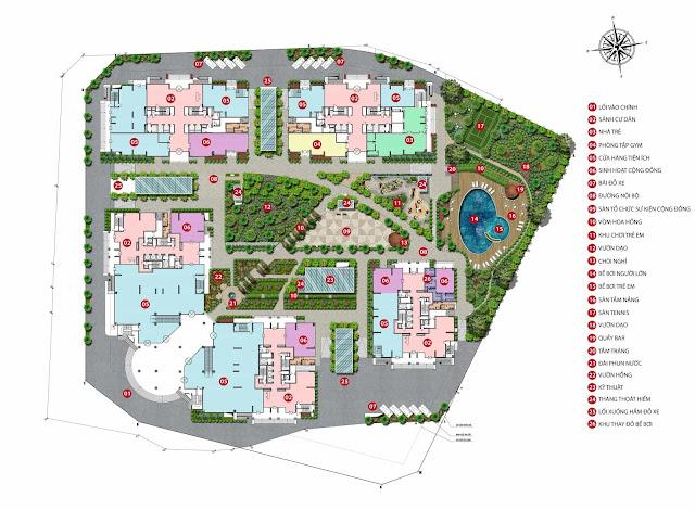 Dự án Iris Garden được chủ đầu tư trang bị 26 tiện ích hiện đại