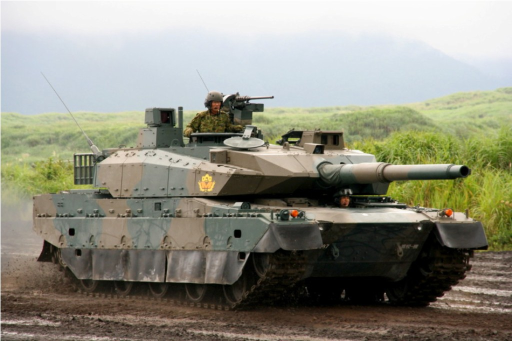 New Images of The Japanese Type 10 Main Battle Tank (MBT ...