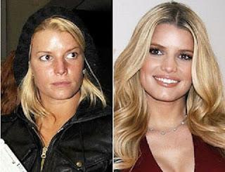maquilhagem+antes+e+dp+jessica+simpson+6 - Famosas Antes e Depois da Maquilhagem