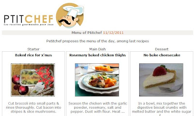 ptitchef features baked rice christmas recipe