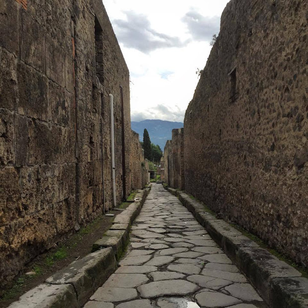 Life Ordinary Frozen In Time - Ancient Pompeii