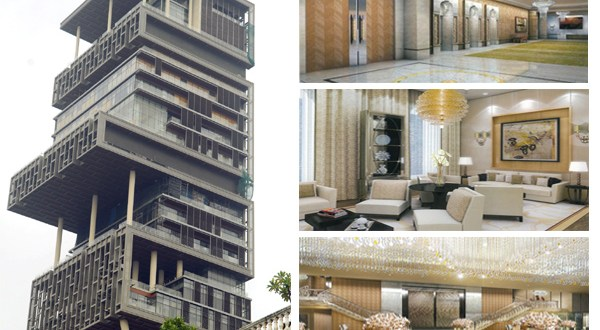 10 Crazy Facts About Mukesh Ambani S Home Antilia