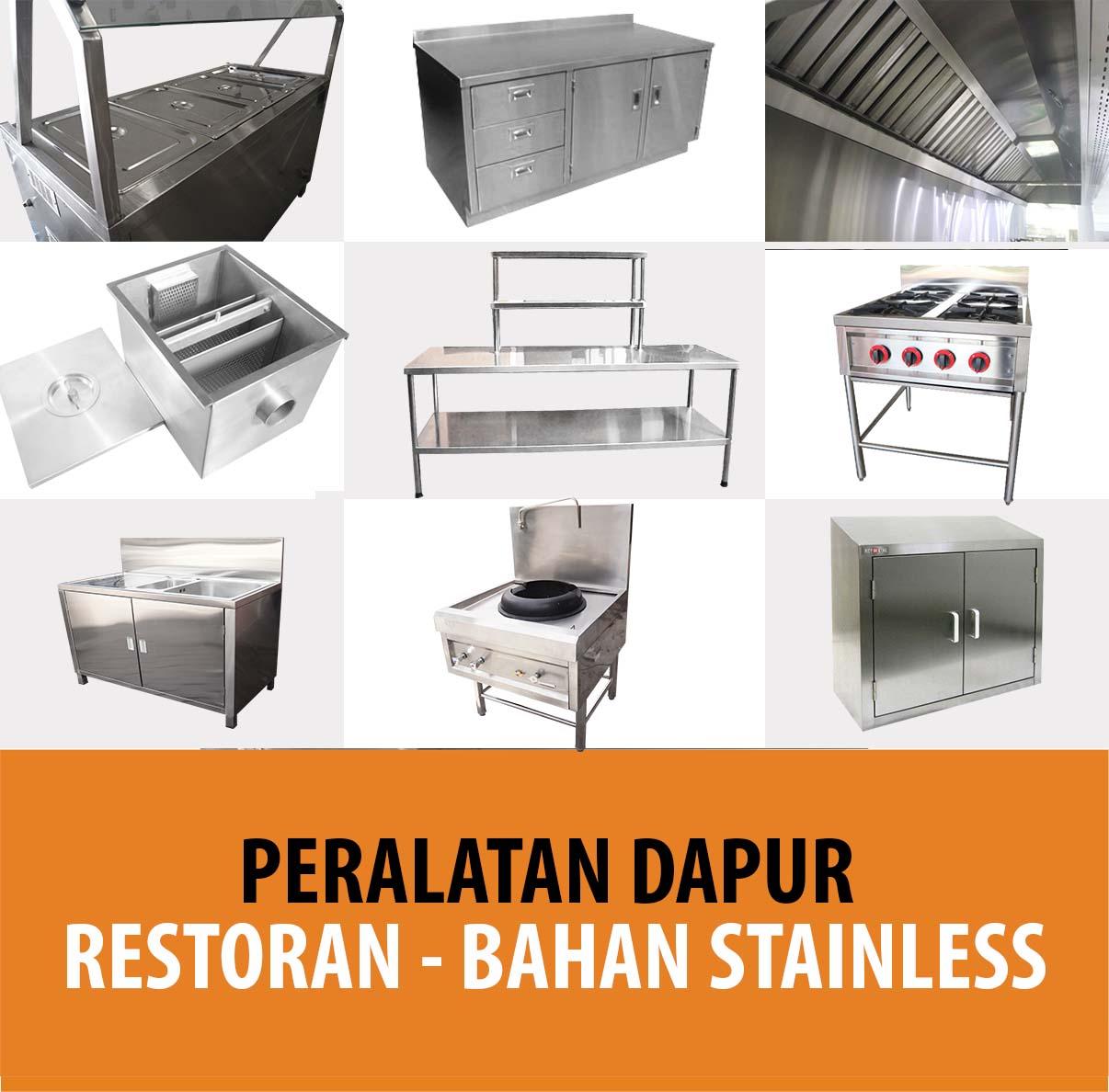 Peralatan Dapur Restorant Bahan Stainless - REYMETAL.COM