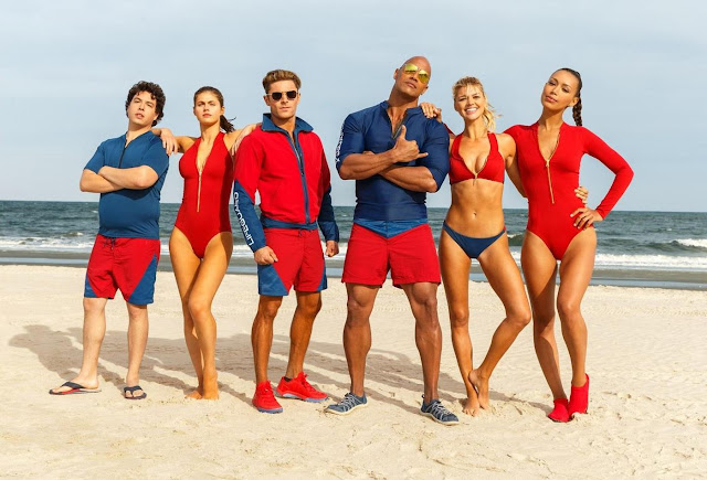 Baywatch, Trailer, Still, Dwayne Johnson, Zack Efron