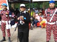 Pembukaan Olimpiade Olahraga Siswa Nasional Tingkat kota Makassar