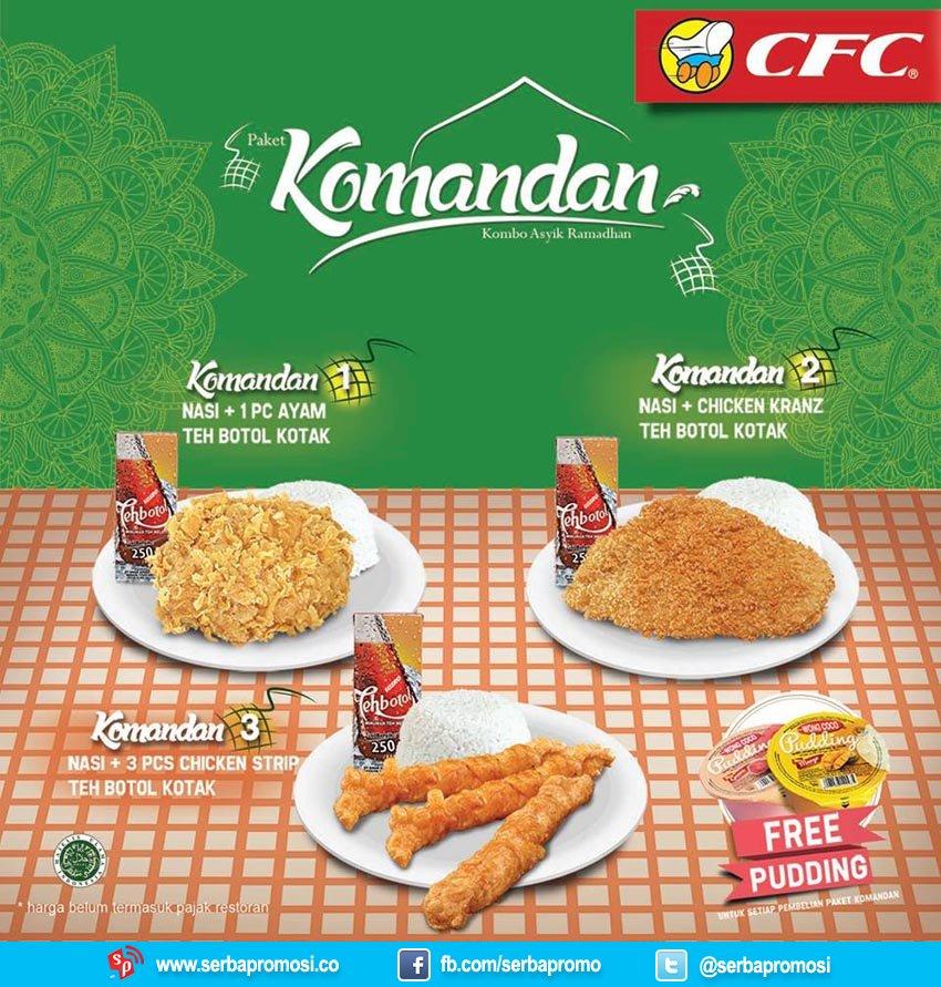 paket menu kombo asyik Ramadhan CFC 2017