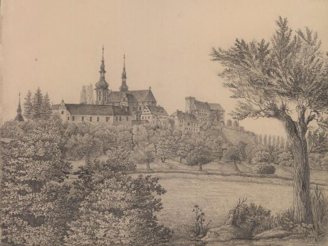 opolskie, domena publiczna, rysunek niemiecki, pocztówka