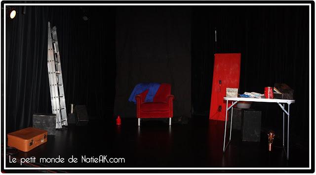 Dans la jungle des villes  de la compagnie Jangala : décor de la pièce
