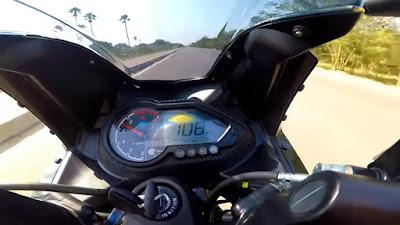 www.indianmotoride.com/pulsar 220f top speed