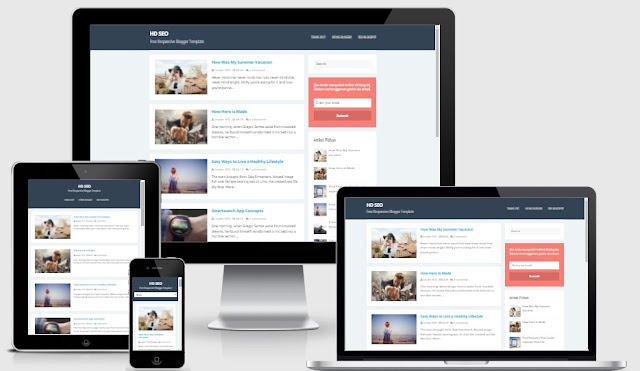 Template blogspot seo tốt 2016 chuẩn W3c/HTML5