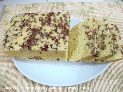 Resep Cake Kukus Tumis Ayam (Chicken Steamed Cake) JTT