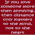 If You Love Someone More Than Anything