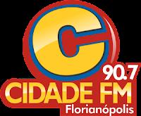 Rádio Cidade FM - Florianópolis SC
