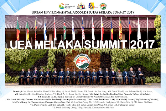 URBAN ENVIRONMENTAL ACCORDS (UEA) MELAKA SUMMIT 2017