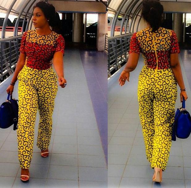 Creative Ankara Jumpsuit 2016 For African Woman - Debonke House Of Fashion