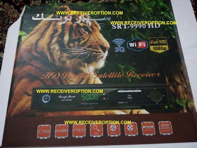 STAR TRACK SRT-9990 HD RECEIVER AUTO ROLL POWERVU KEY NEW SOFTWARE