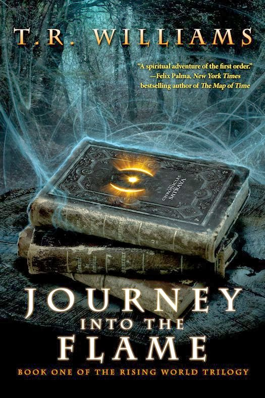 Guest Blog by T. R. Williams, author of Journey into the Flame - February 17, 2014