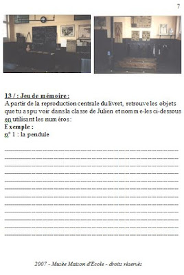 Cahier CM, page 7
