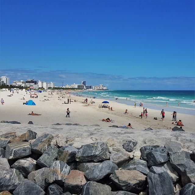 Miami beach in February