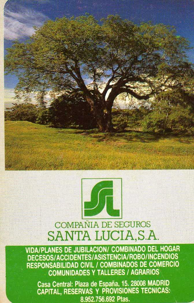 Santa Lucia Calendario.Calendarios De Patxi Seguros Santa Lucia
