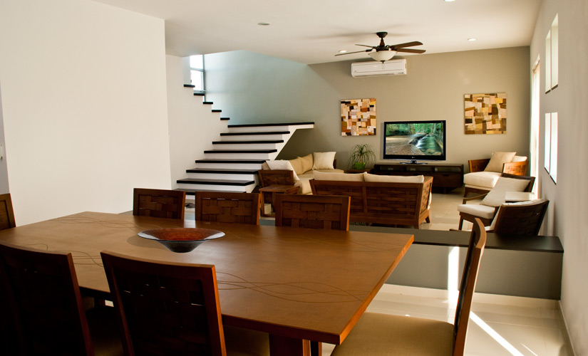 Decoraci n minimalista y contempor nea ambientaci n de for Decoracion salas contemporaneas