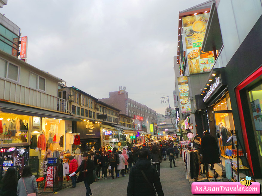 Hongdae and Sinchon Area An Asian Traveler