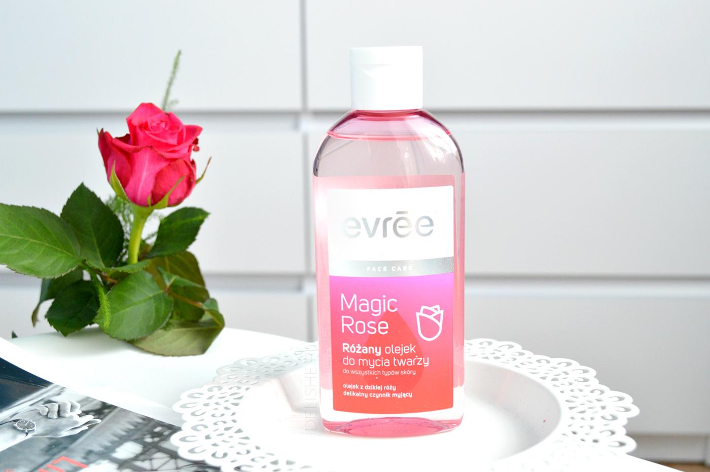 olejek do mycia twarzy evree blog