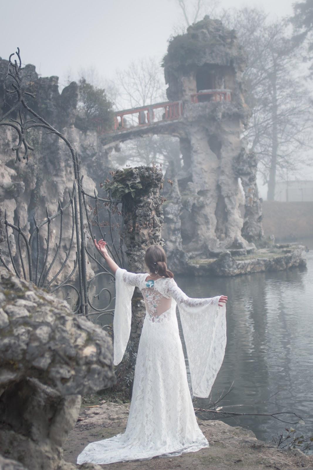 Robe de dame blanche