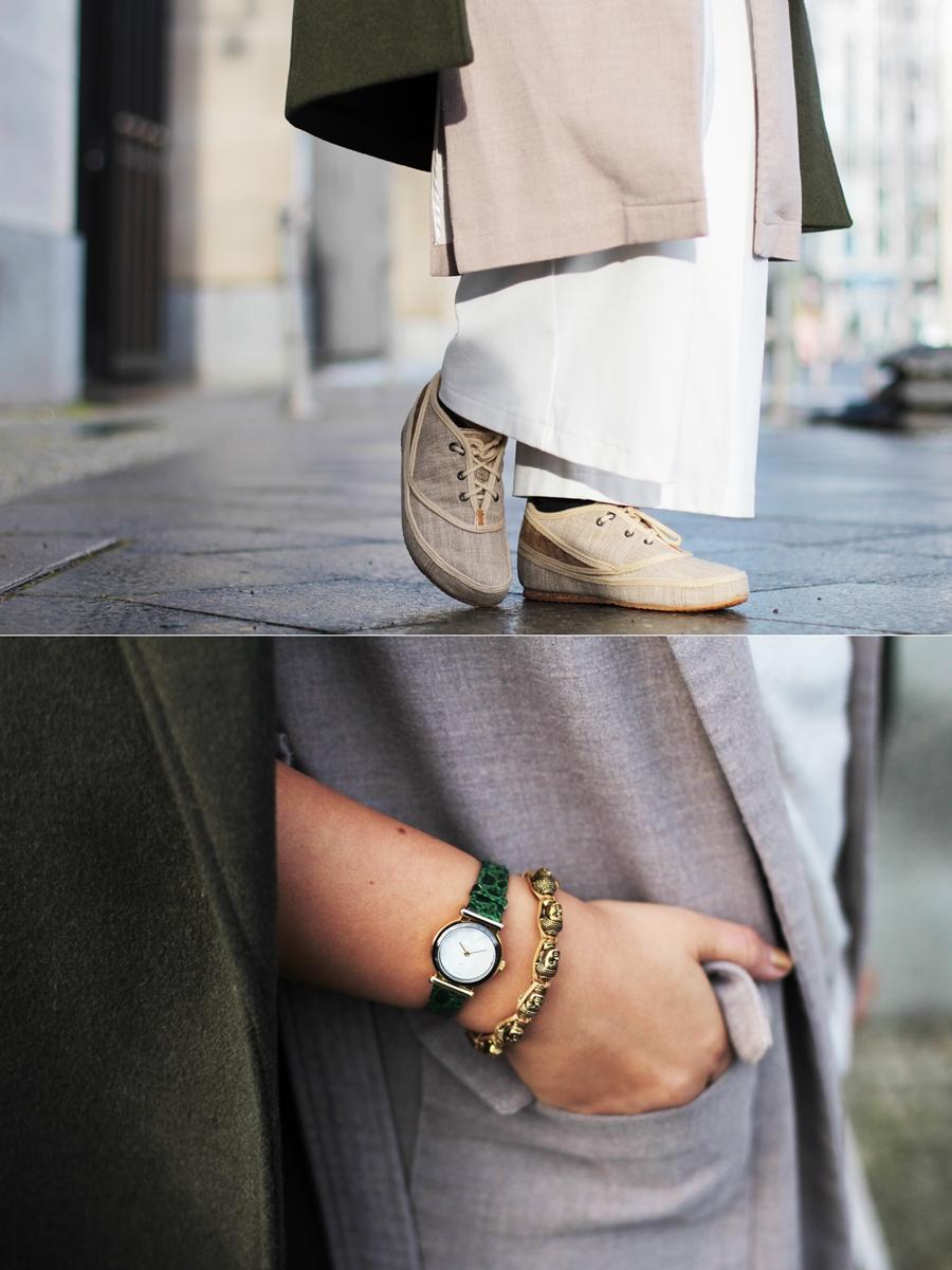 mode fashion detail uhr layering